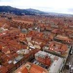 Czerwona klimatyczna Bolonia