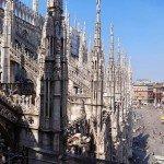 Gotyckie Duomo, Castello Sforzesco oraz wehikuł czasu, czyli niedziela w Mediolanie