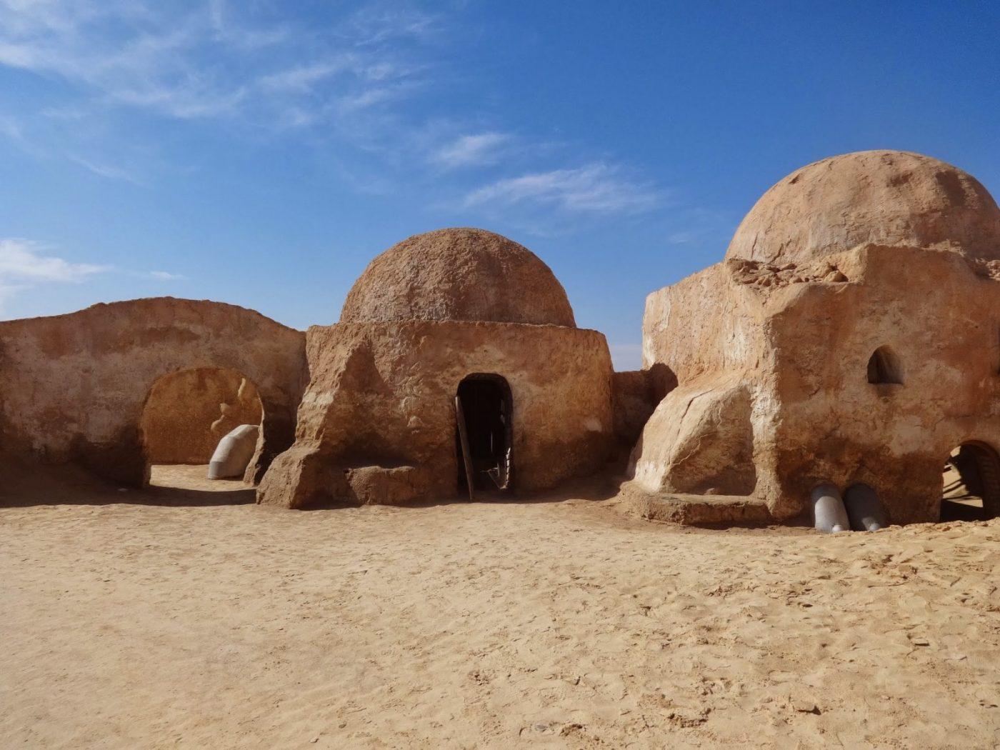 WioskaGeorge'a Lucasa w Tunezji