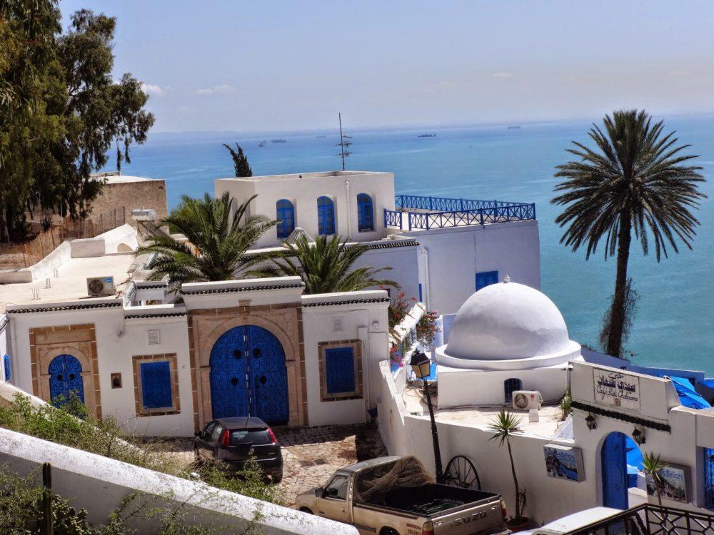 niebieskie miasteczko Sidi Bou Said w Tunezji