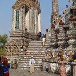 Wat Kalayanamit i Wat Arun, czyli Świątynia Dobrobytu i Świątynia Świtu
