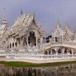 Wat Rong Khun świątynia z krainy lodu