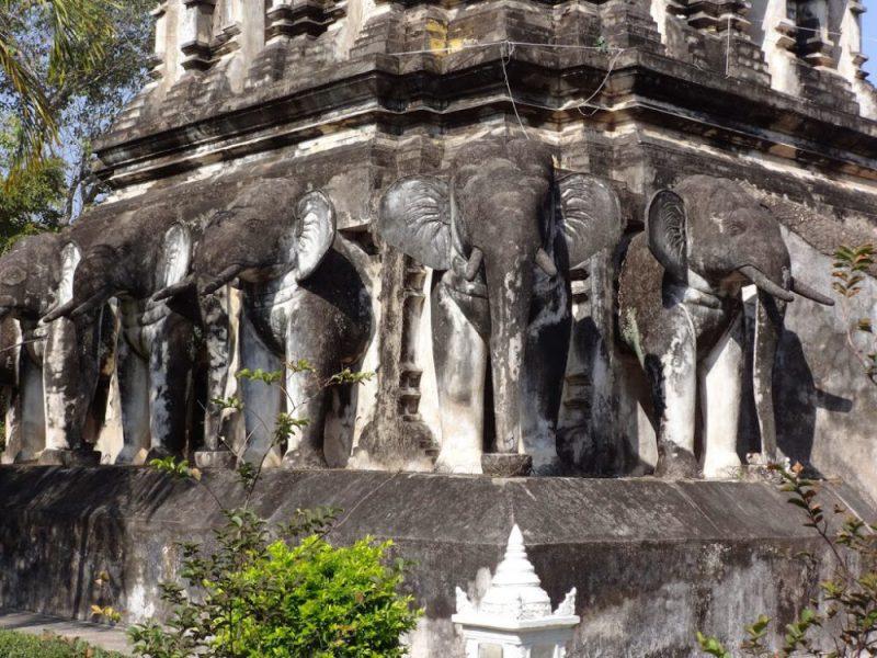 Świątynie w Chiang Mai Tajlandia
