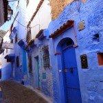 Niebiesko mi… czyli błękitny labirynt w górach Rif