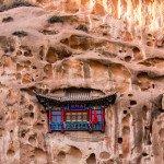 Wykuta w skale świątynia Mati Si
