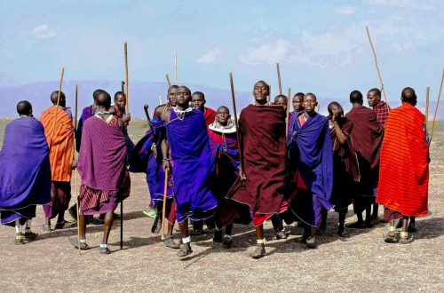 Tanzania wioska Masajów