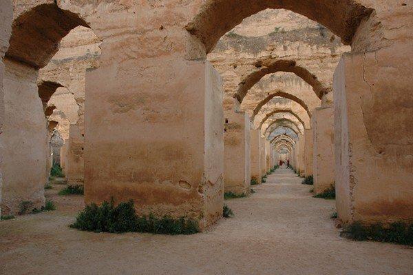 Meknès_-_Graners_de_Mulay_Ismail