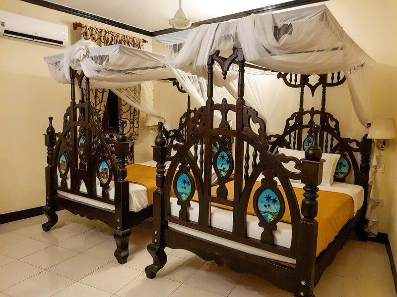 gdzie spać w Stone Town