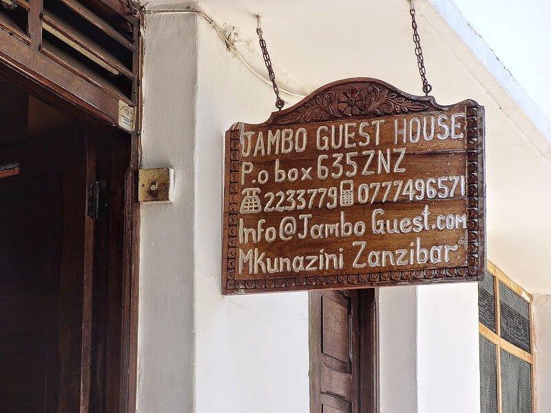 tani nocleg w Stone Town na Zanzibarze