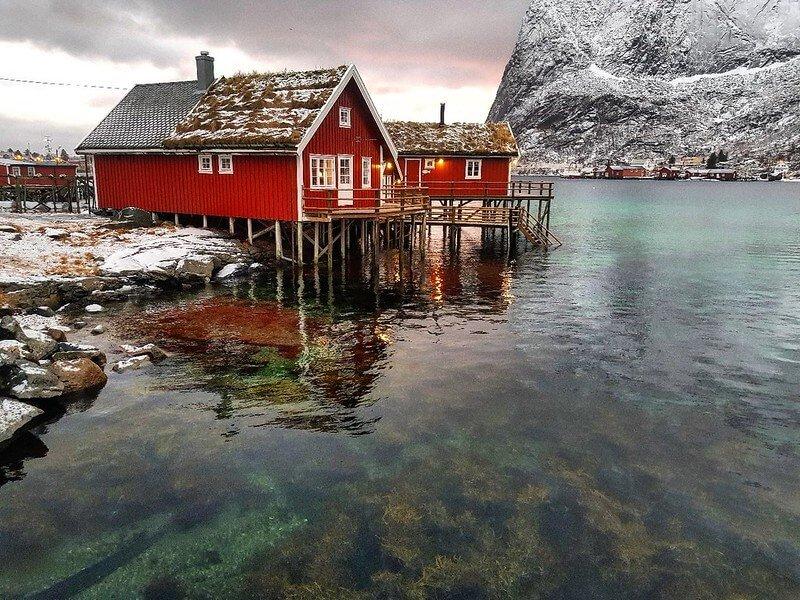 jak upolować zorzę w Skandynawii