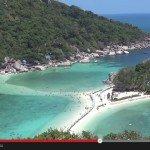 Cel z kamerą w Zatoce Tajlandzkiej