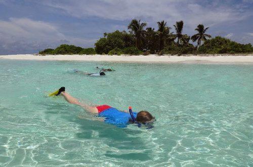 lokalna wyspa Omadhoo