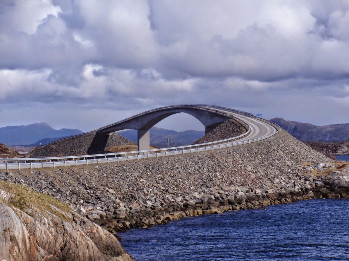 Droga Atlantycka Norwegia