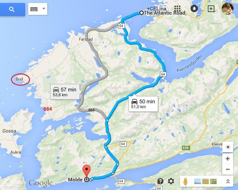 Droga z Bud do Drogi Atlantyckiej