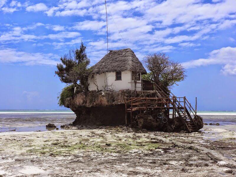 dobra restauracja na Zanzibarze