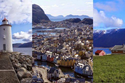 Kristiansund, Alesund i wyspa Godoya