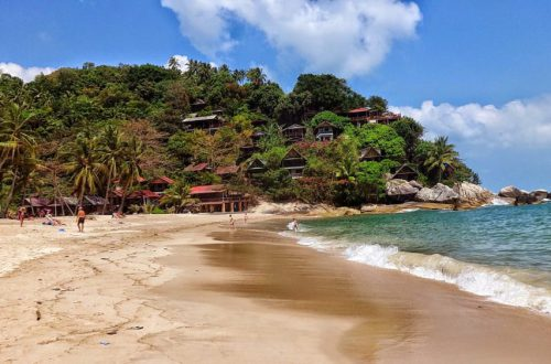 plaże na Koh Phangan Tajlandia