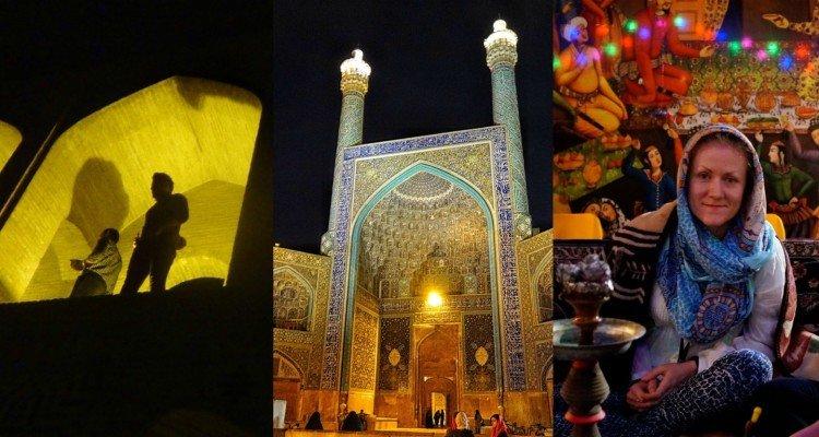 Esfahan wieczorny