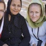 Babskie spotkania w mieście Sziraz