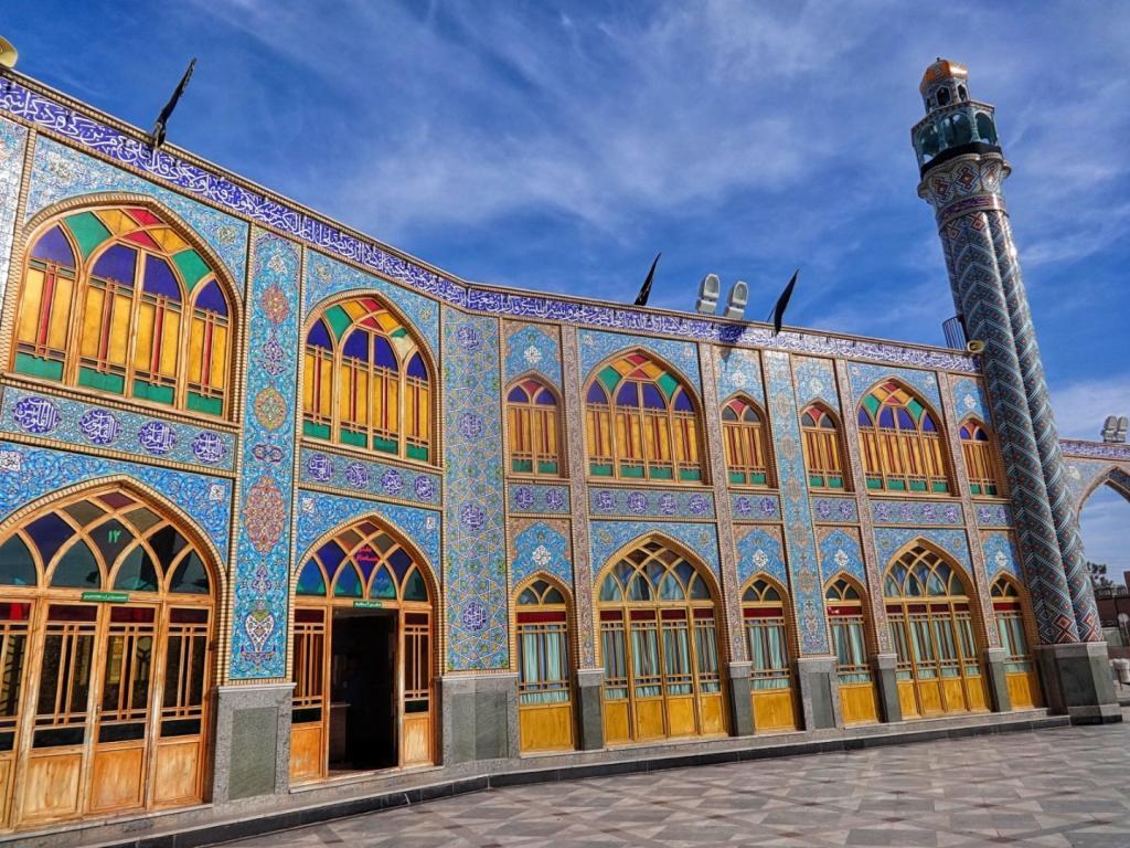 Iran Shrine of Hilal ibn Ali w wiosce Aran va Bigdol