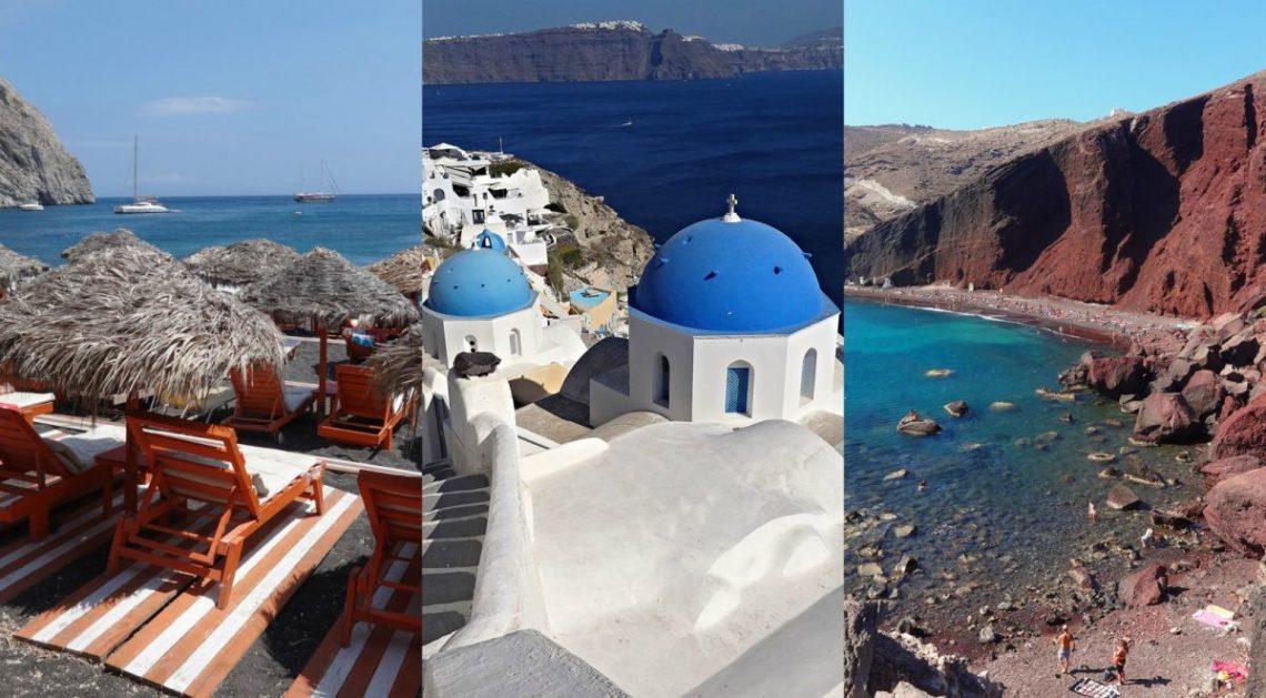 Santorini plan na trzy dni