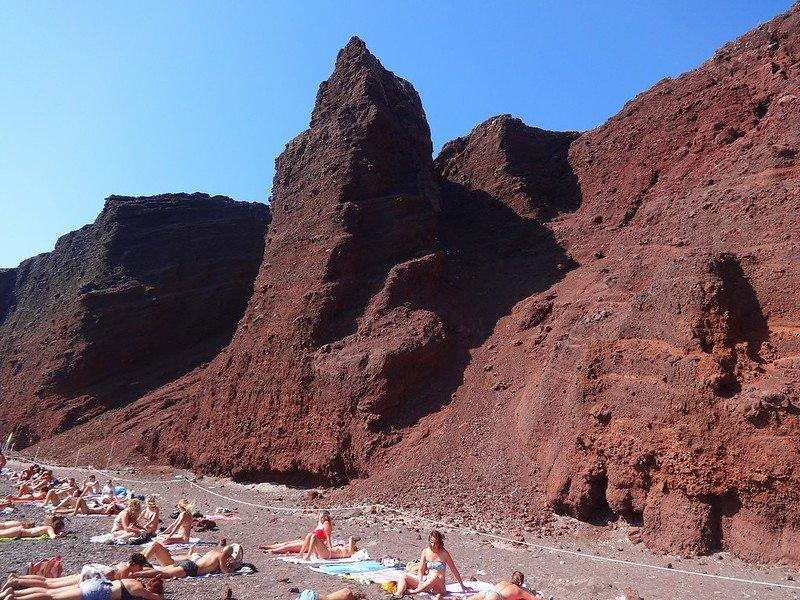 najpiękniejsze plaże na Santorini