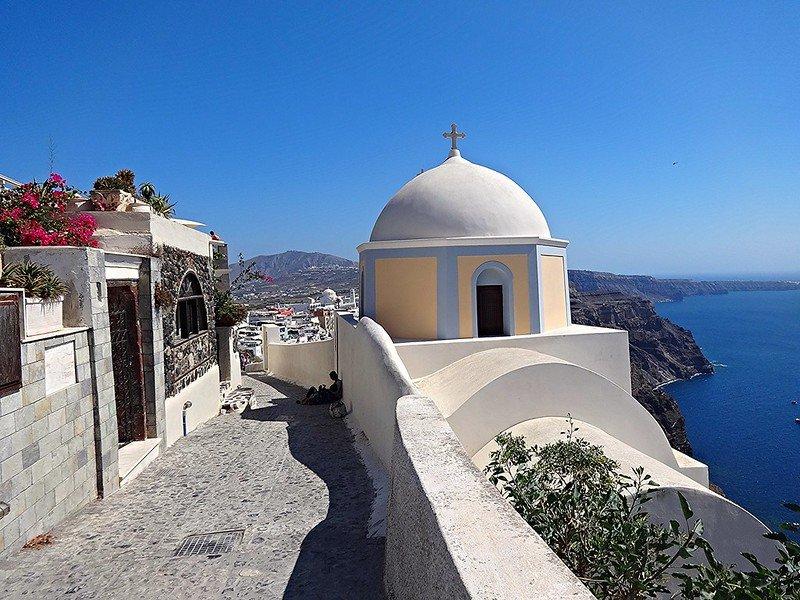 co zobaczyć na Santorini