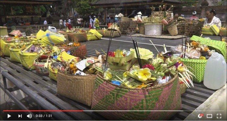 Bali świątynie filmik