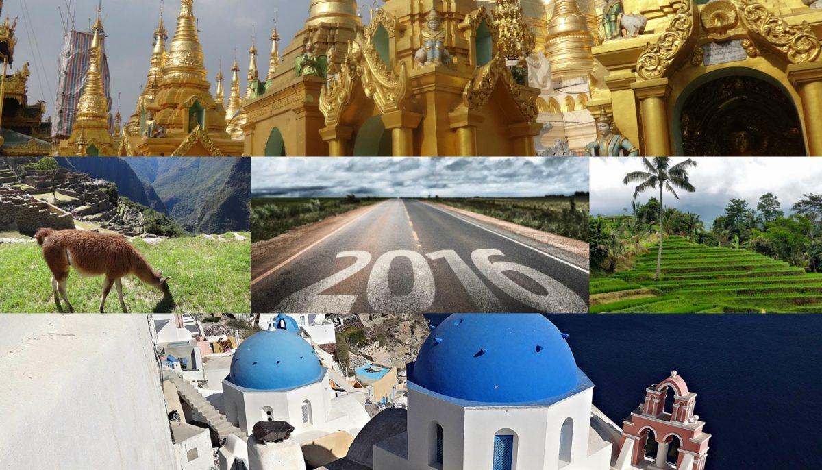 Podróże w 2016