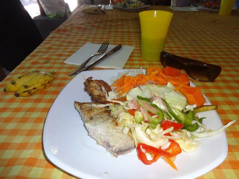 jedzenie na Seszelach