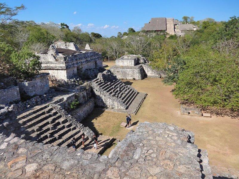 ruiny Majów na Jukatanie