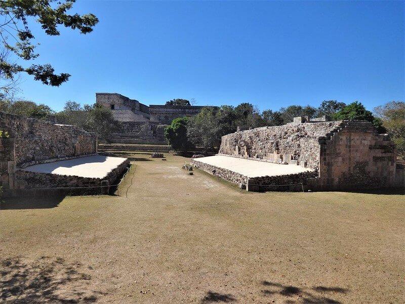 ruiny miast Majów w Meksyku