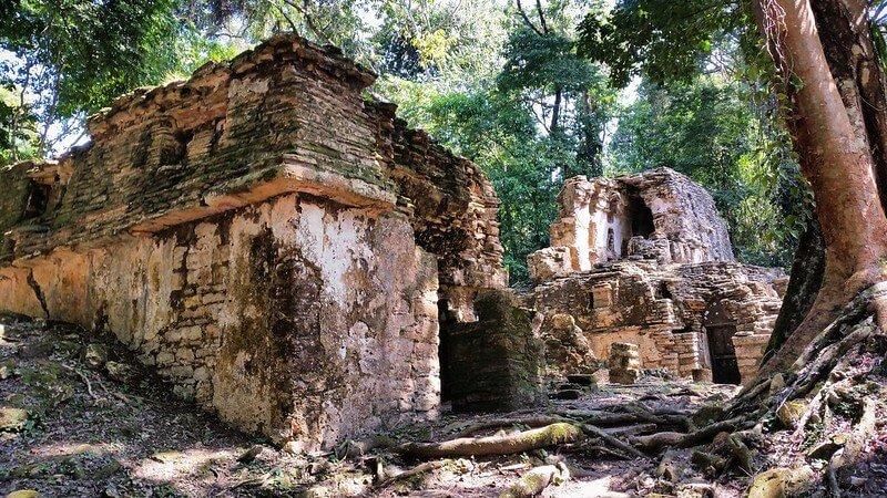 ruiny Majów w Meksyku