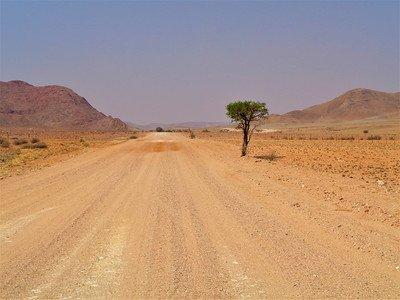 jak się jeźdi w namibii