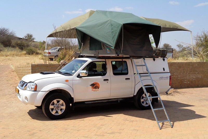 namibia jaki samochód wypożyczyć