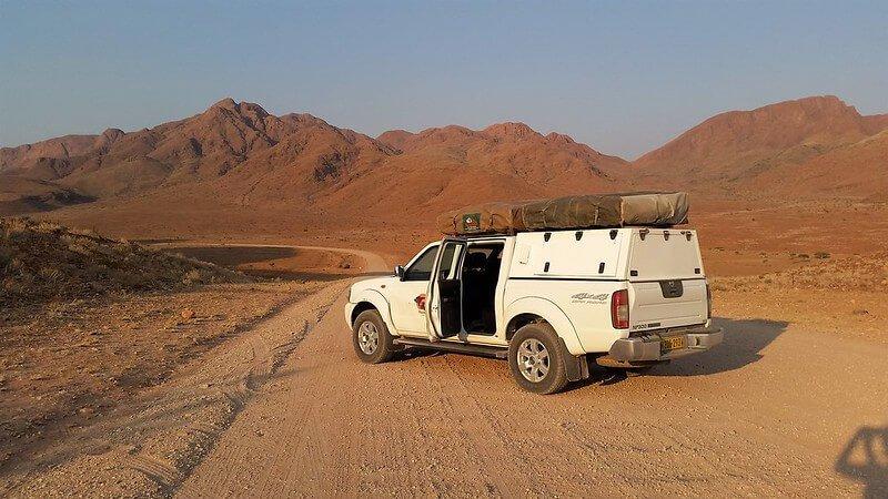 jaki samochód wynająć w namibii