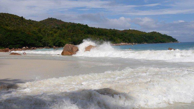 najpiękniejsze plaże na wyspie Praslin