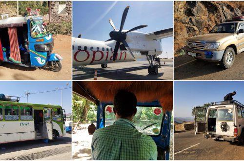 Czym się poruszać po Etiopii
