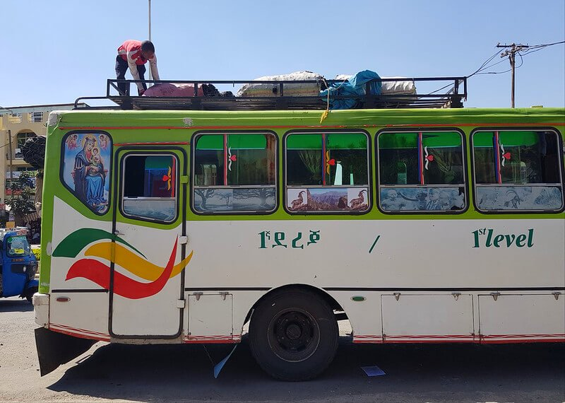 transport w Etiopii