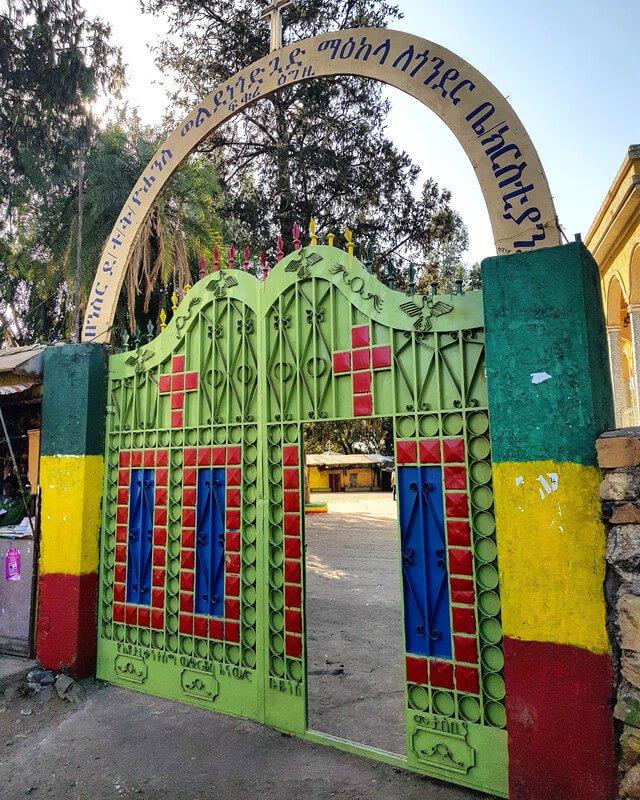 kościół w Etiopii