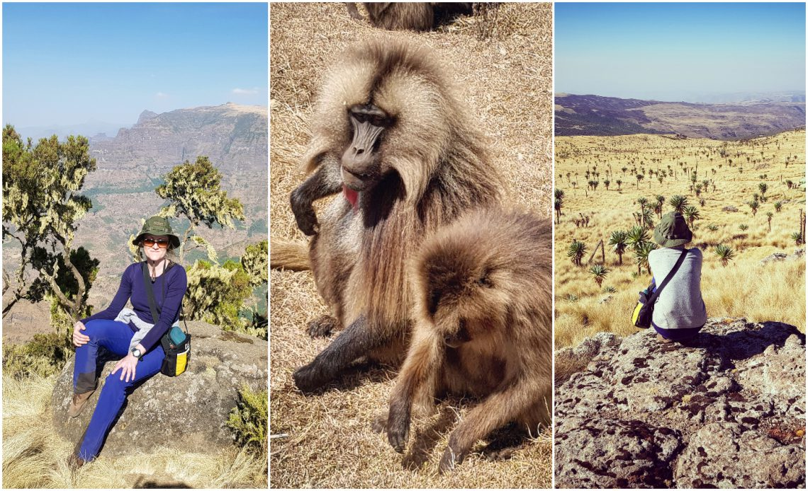 Trekking w górach Simien