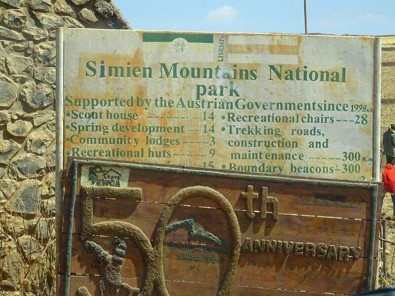Góry Simien trekking w Etiopii