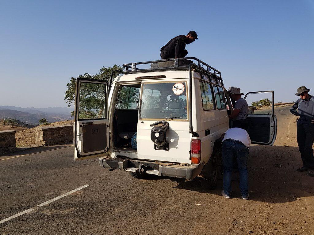 transport do Aksum w Etiopii