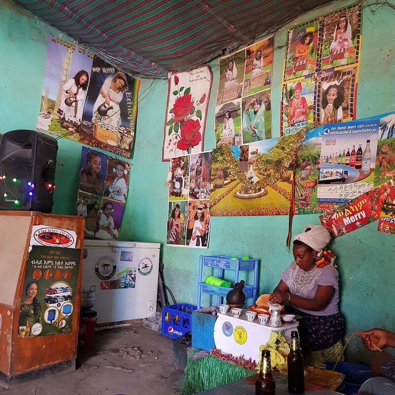 gdzie jeść w Etiopii