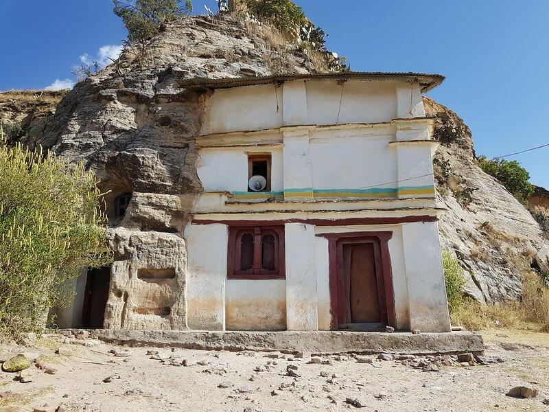 skalne kościoły Tigray w jeden dzień