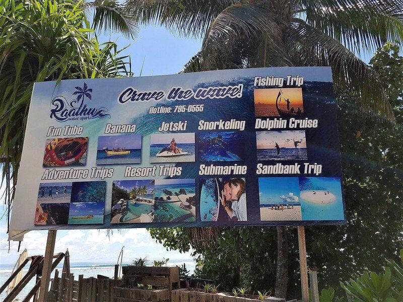 tani nocleg na Hulhumale na Malediwach