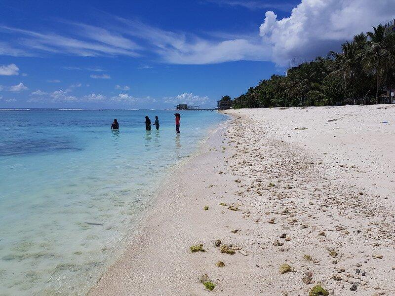 Malediwy Hulhumale wyspa na nocleg przy lotnisku