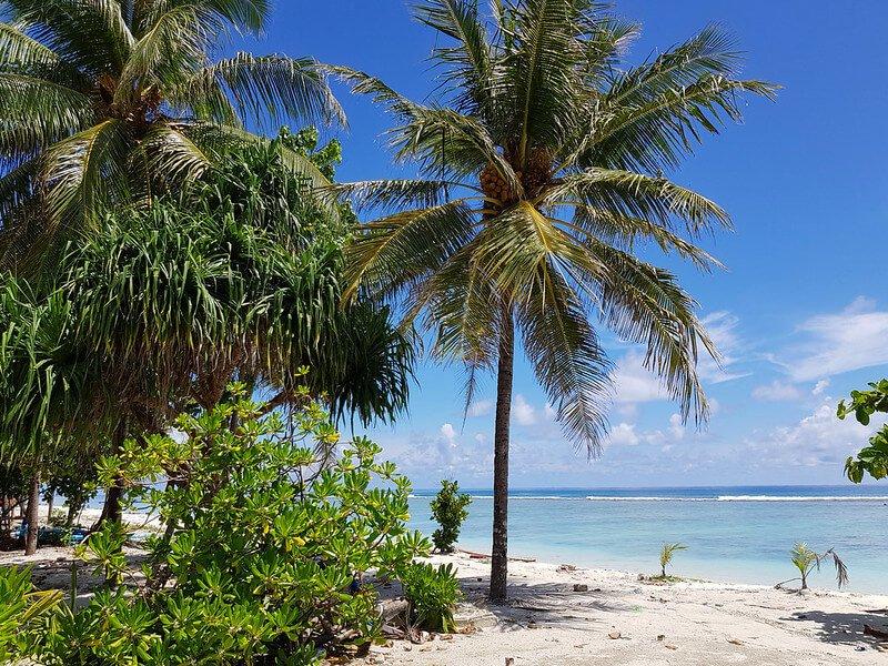 Hulhumale wyspa na nocleg przy lotnisku na Malediwach