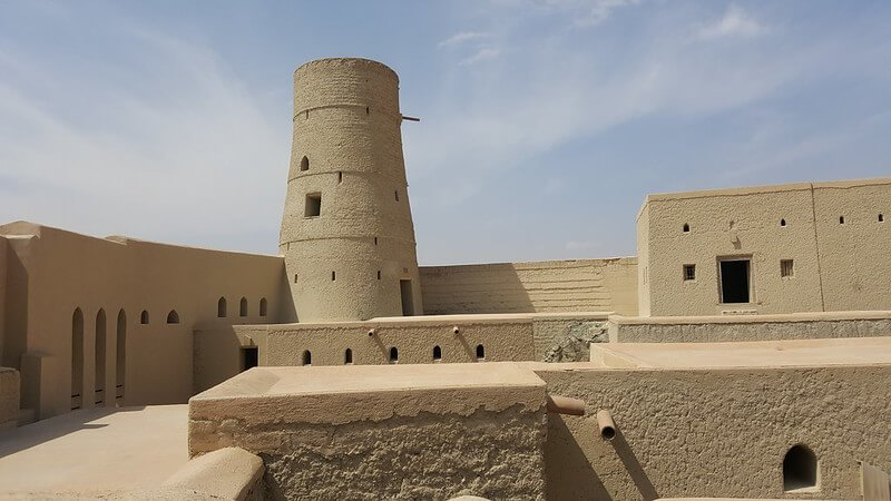 które forty w Omanie
