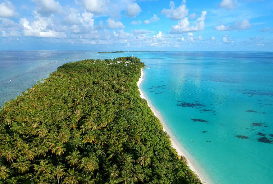 najpiekniejsza wyspa lokalna na malediwach